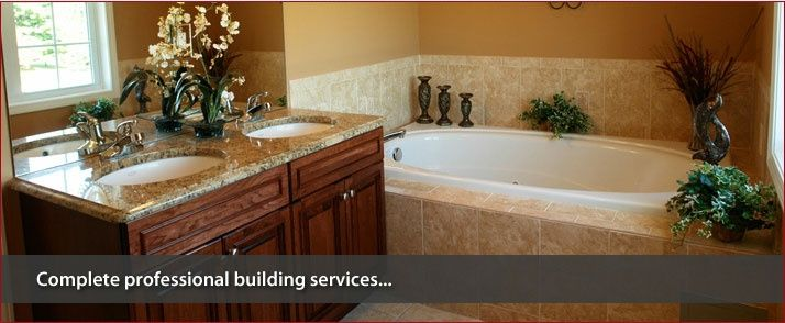 Complete professional building services...